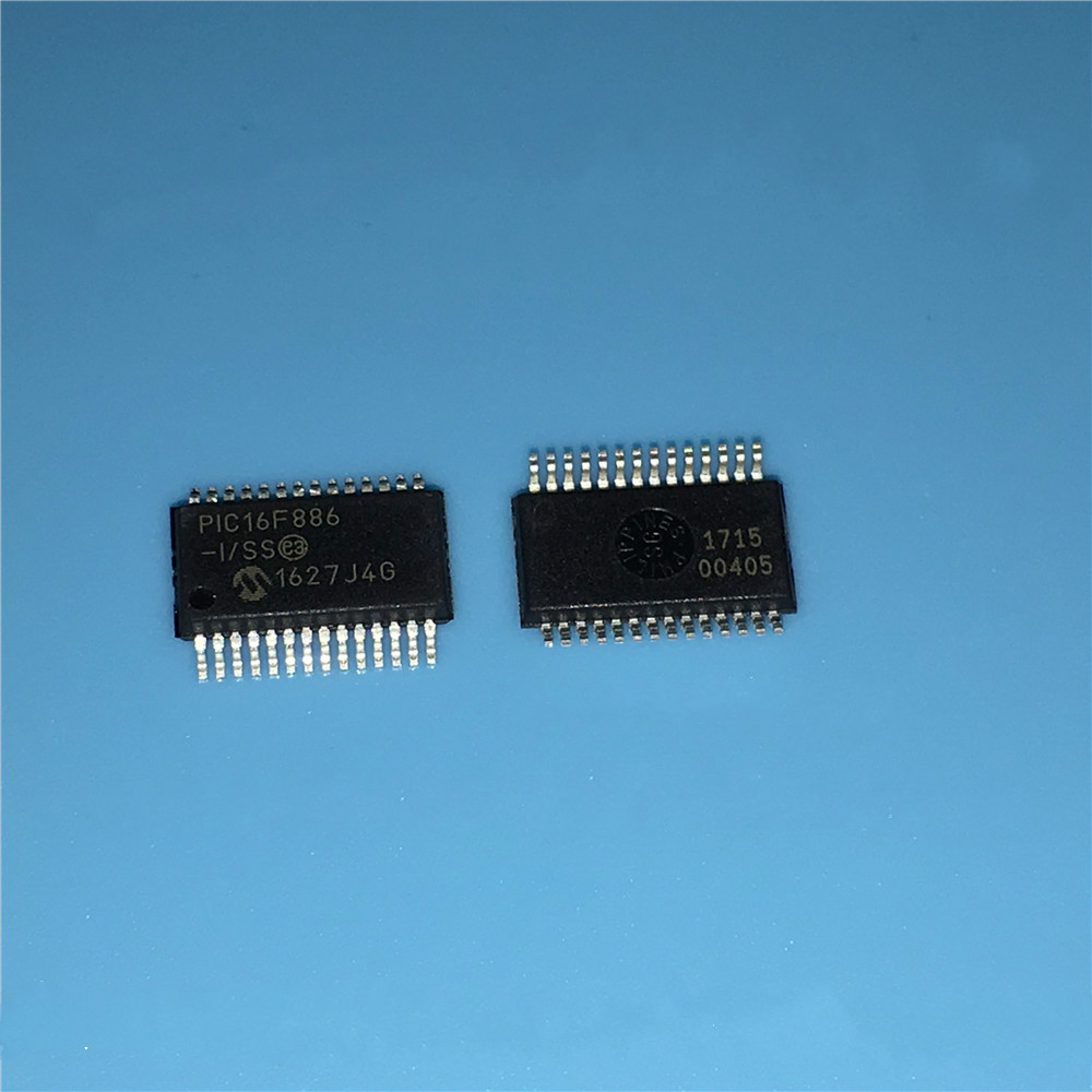PIC16F886-I/SS SSOP28 original authentic--XGZD2 ...