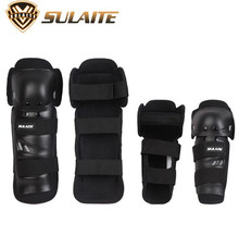SULAITE Motorcycle Elbow & Knee Pads Protectors Guards Cyclegear Promotion Motocross Equipment Protection Gear