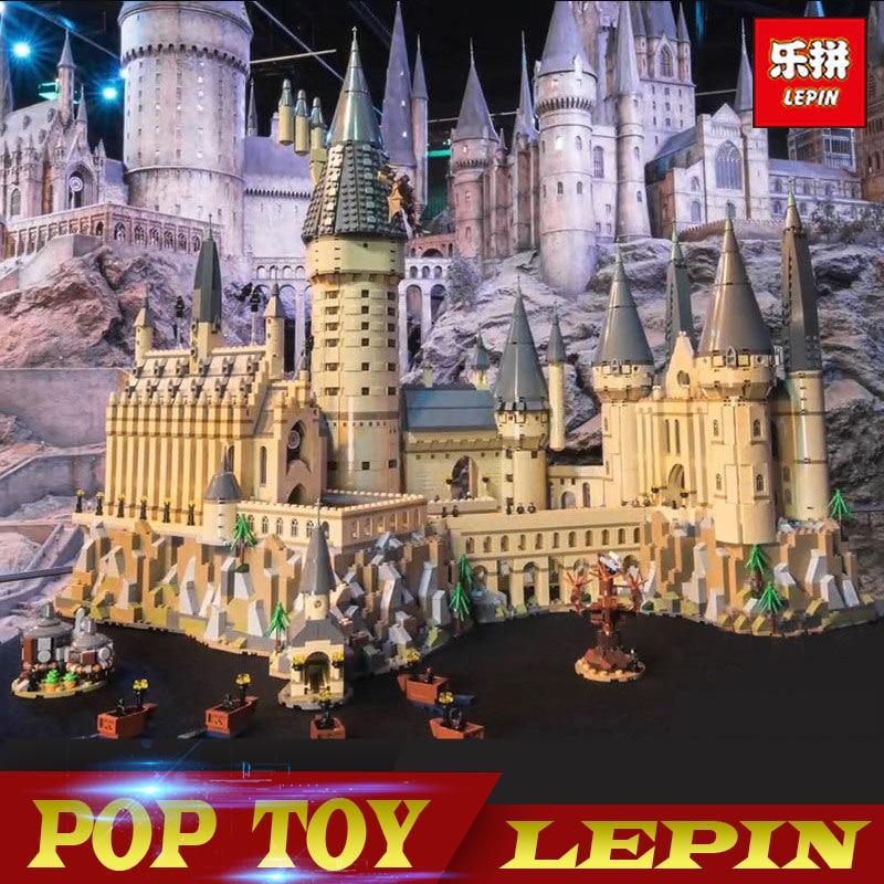 DHL 2018 Lepin 16060 Harry Potter Magique Poudlard Château Compatible Legoed 71043 Blocs de Construction de Briques Enfants Jouet Éducatif