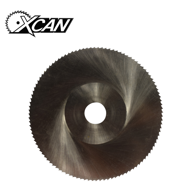 цена на XCAN 1 Piece Diameter 100mm Teeth 108 Z High Speed Steel Saw Blade Woodworking Saw Blade Metal Cutting Slitting Saw Blade