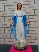 60 см большой Топ высокого качества Christianism Мадонна Домашний декор украшения религиозных Девы Марии керамики украшения Статуя