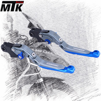 MTKRACING Motorcycle Adjustable Folding Extendable Brake Clutch Lever For BMW R1200GS Adventure 2006 2013