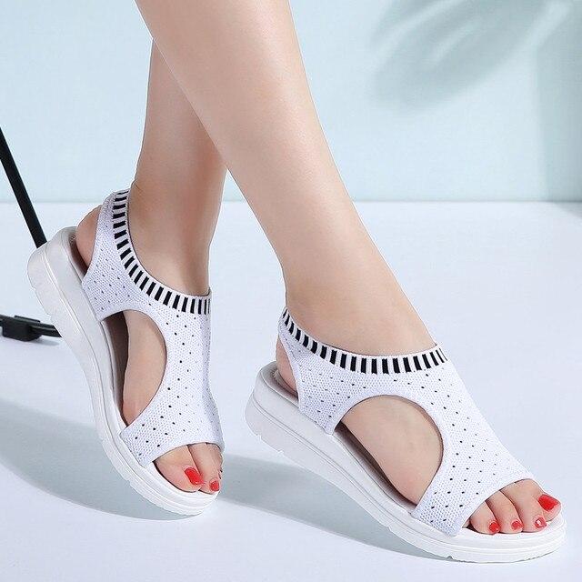 LAKESHI 2019 Women Sandals Women Shoes
