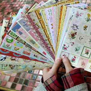 Hot selling Crazy panic buying n stationery wholesale bentoy8800 stickers 24 6073