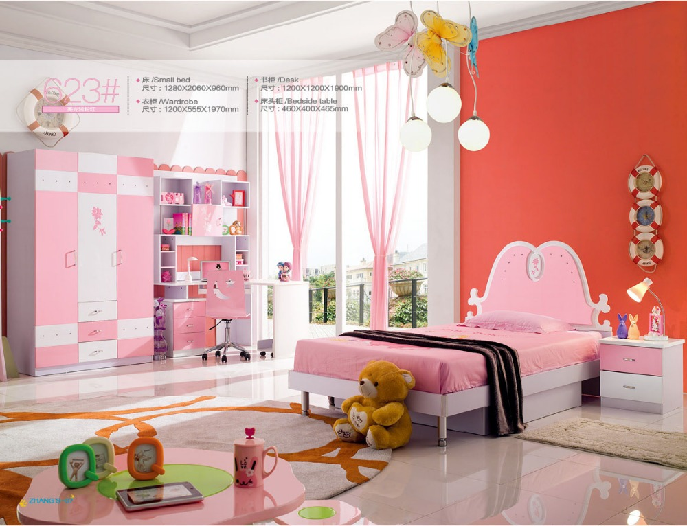 2018 maternelle lits superposés Enfants offre enfant Promotion Lit Enfants Meuble avec escaliers maternelle meubles chambre ensemble