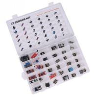 Ultimate 37 In 1 Sensor Modules Kit For Arduino MCU Education User Free Case
