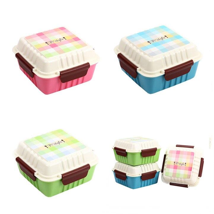 Aparelho De Jantar Japanese Lunch Box Faqueiro Microondas Bento Box Plastic Food Containers Picnic Lunchbox Dinner Set for Kids