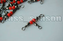 100 Pcs CrossLine (3 Way) Fishing BARREL Swivel Size 14 X 16 20lb Free Shipping