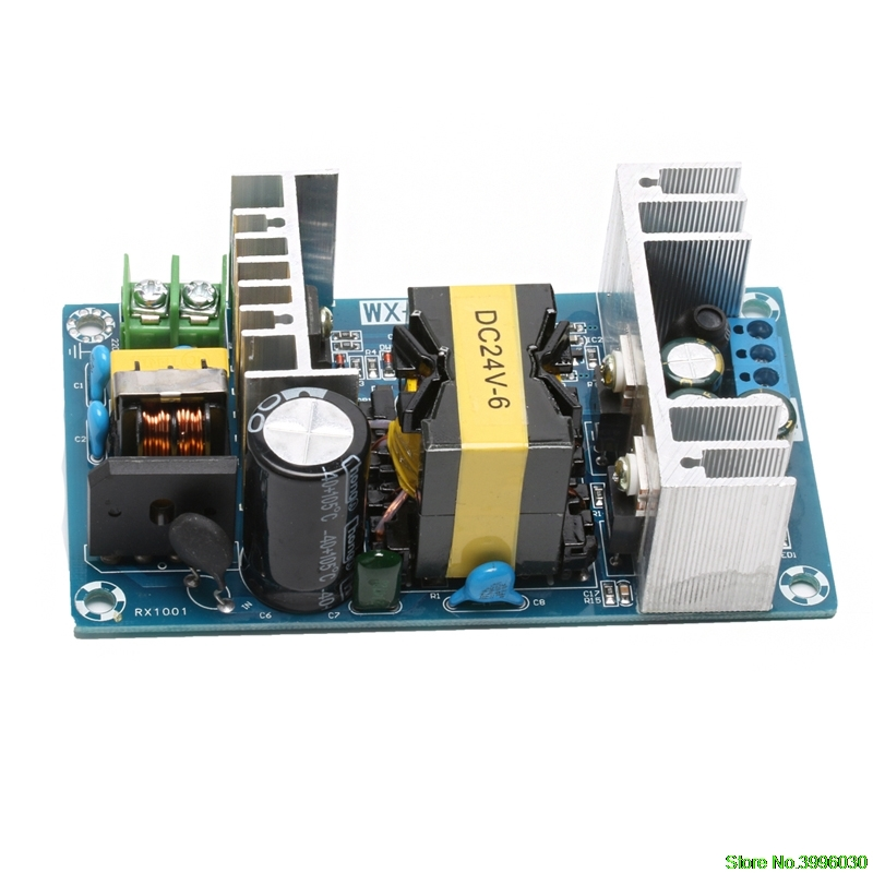 AC 100-240V to DC 24V 6A 150W Power Supply AC-DC Power Module Board Switch Discount цены