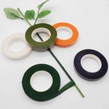 Cintas de Verde Floral 12mm * 45 m/cintas de rollo corsajes de ojal flores artificiales estambre Wrap Florist cintas verdes cinta elástica