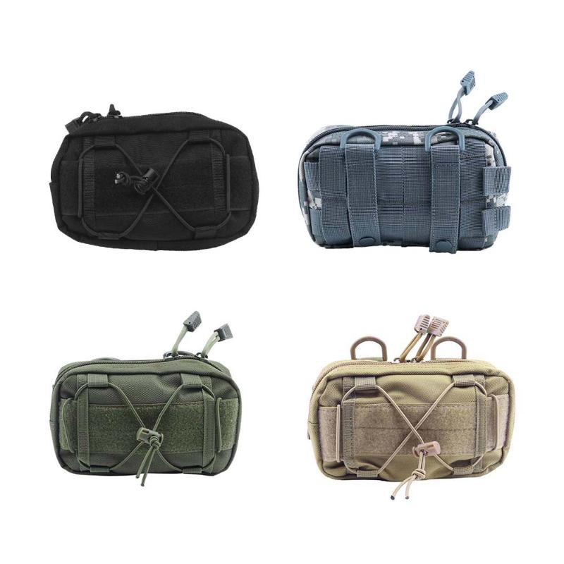 Universal Outdoor Sport Tactical Bag Molle Bum Waist Pouch Military 1000D Waterproof Fanny Cellphone Packs Lightweight