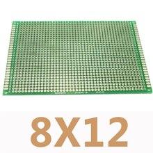 5 шт./лот 8×12 см Двусторонняя Медь Прототип PCB 8×12 см Универсальный печатные платы печатную плату DIY