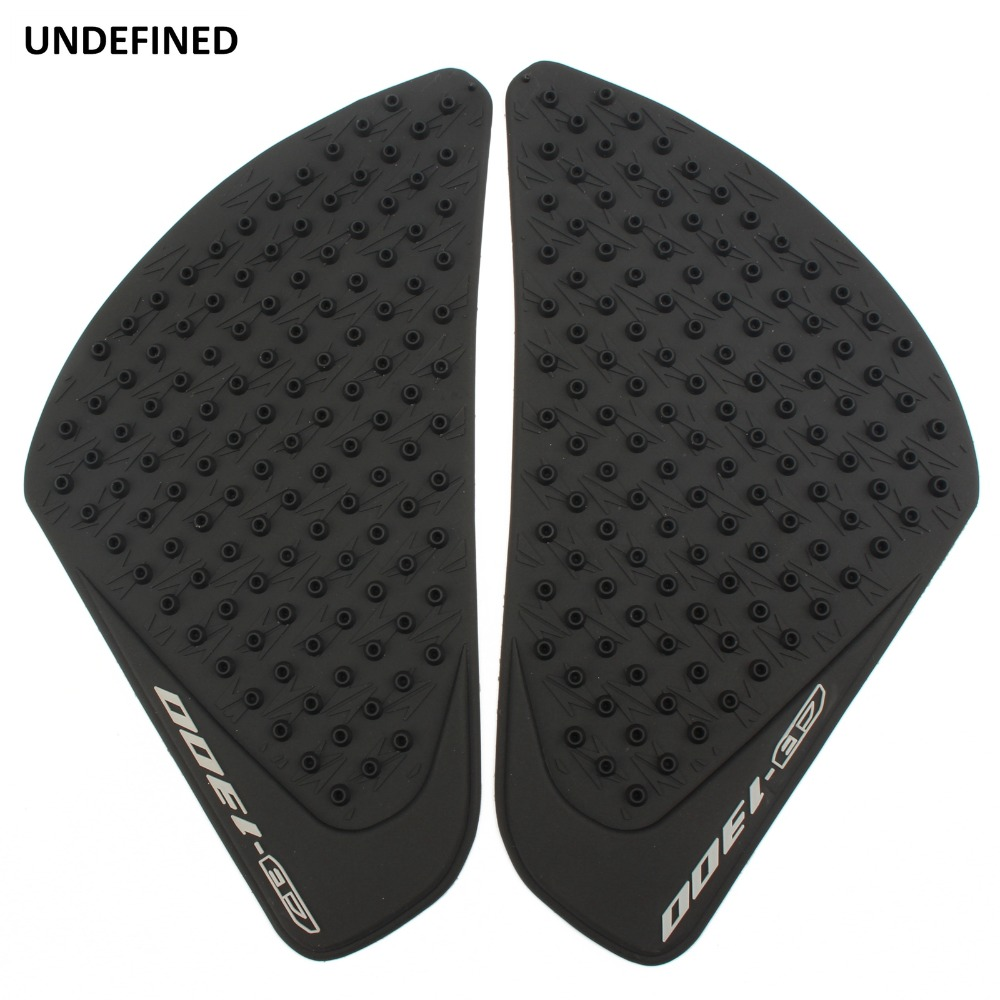 Motorcycle Accessories & Parts Undefined 2pcs Motorcycle Moto Knee Grip Protector Rubber Gas Fuel Tank Pad Protector Sticker Decals For Honda Cb1300 Universal Relieving Heat And Thirst. Automobiles & Motorcycles