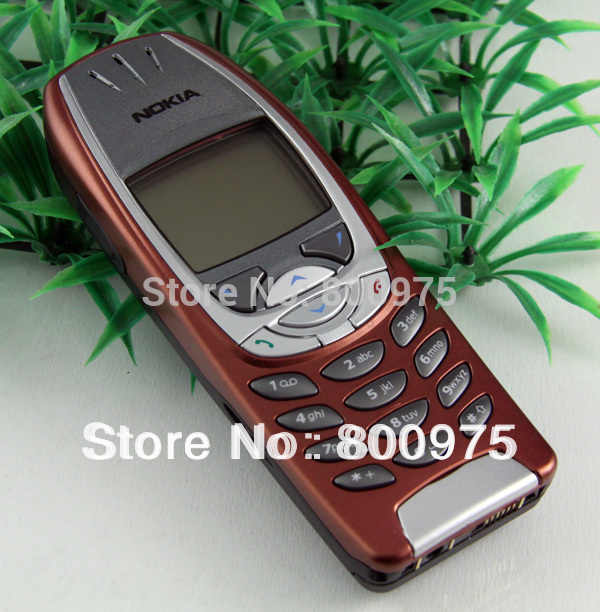Refurbished Classic Original Nokia 6310i Mobile phone 2G GSM Unlocked Red & One year warranty