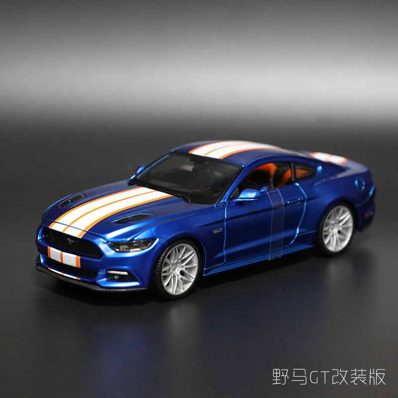 Ford Sports Car Models: 1:24 Simulation Alloy Sports Car Model Toy For Ford