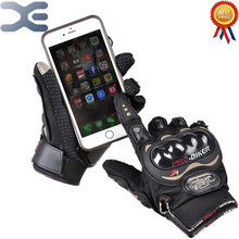 MCS-01C Touch Screen Riding Gloves Motorcycle Gloves Outdoor Racing Electric Car Gloves
