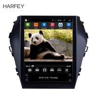 Harfey Head Unit 9.74G LTE Player For 2015 2016 2017 Hyundai Santafe IX45 GPS Navi Android 6.0 Car Auto Radio DVR SWC OBD2
