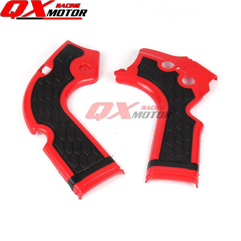 Motorrad X-Grip Rahmen Schutz Schutz Abdeckung Für CRF250R 2014-2016 CRF450R 2013-2016 MX Motocross Freies verschiffen
