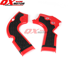 Motorcycle X-Grip Frame Guard Protection Cover For CRF250R 2014-2016 CRF450R 2013-2016 MX Motocross Free shipping