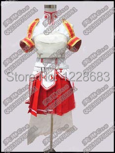 Image 4 - Asuna Cosplay Costume Anime Cosplay Clothes Sword Art Online Cosplay Stock Size S, M, L, XL