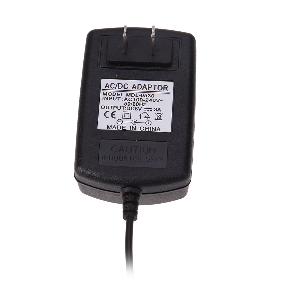 High Quality Micro USB Charger AC to DC 5V 3A Power Supply Adapter For Windows Android Tablet US Plug