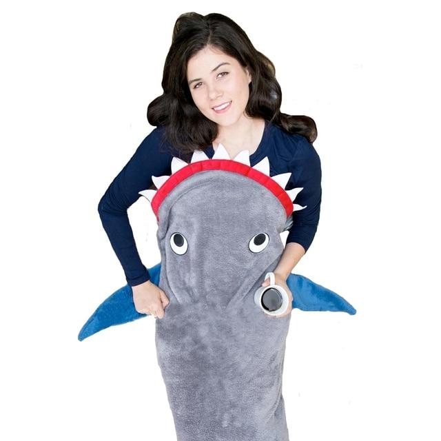 06c713d389 Shark Mermaid Onesie Adult Pyjamas Animal Womens Pajamas Pijama Pijamas  Pyjama Sleepwear For Men Women