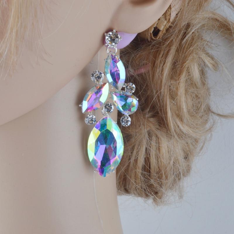 Gorgeous Bridal Jewelry жиынтығы AB түсті маркиз - Сәндік зергерлік бұйымдар - фото 5