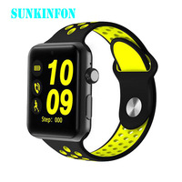 Bluetooth Smart Watch Clock DM09 PLUS Heart Rate Smartwatch HD Screen Sync Notifier Support SIM Card