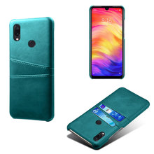 Conelz For Xiaomi Redmi Note 7 Case PU Leather Phone Cover Back Card Slot for Mi