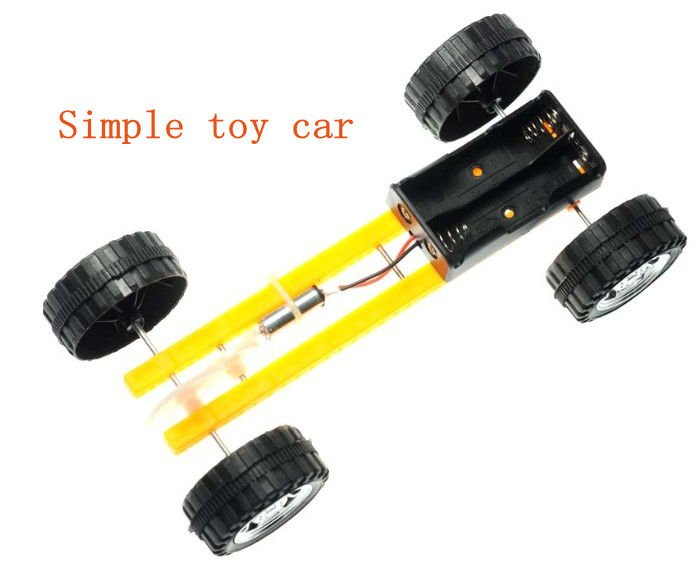 Cheap Simple And Beautiful Car Four Wheel Electric Car Model
