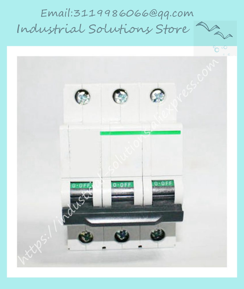 Circuit breaker iC65N 3P C63A PART NUMBER A9F18363 spotCircuit breaker iC65N 3P C63A PART NUMBER A9F18363 spot