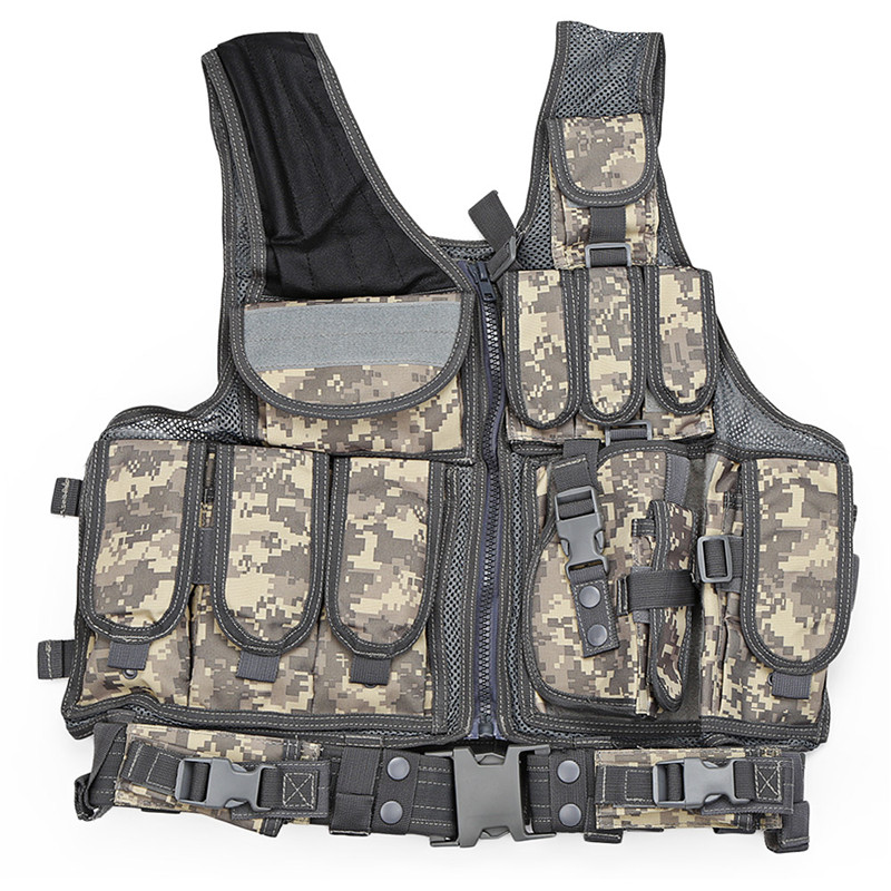Outlife Tactical Vest Men Military Tactical Vest Vest Camouflage Vest Body Armor Molle Outdoor Equipment Jungle 5 Color