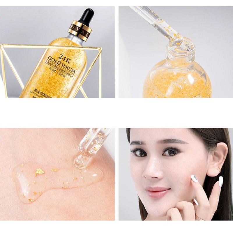 Эссенция 24-каратного золота, праймер для макияжа, увлажняющий крем, фольга для поры, сыворотки, масло, матовая основа для профессионального ...