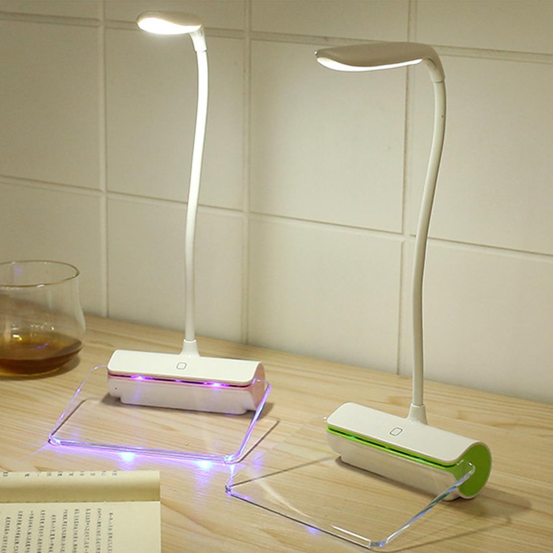 Eerlijk Nieuwste Ontwerp Oplaadbare Tafellamp Led Light Switch Usb Opladen Tl Message Board Touch Nachtlampje 1.5 W
