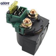 GOOFIT Relay with Fuse for ATV Scooter Dirt Bike Go Kart Moped Motorcycle H056-006