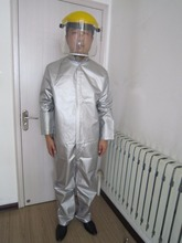 High intensity UV protective clothing, medical laboratory UV protection, UVA UVB radiation protective clothing.