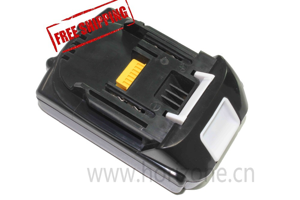 все цены на 18V 3.0Ah 3000 mAh Li-ion Replacement battery for Makita BL1830 BL1840 BL1815 Power Tool vacuum cleaner Battery онлайн