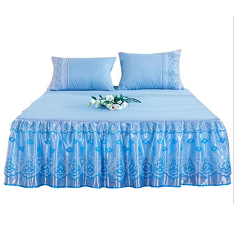Bedcover Cubrecama, Bedspread Bedclothes, Fashion Cotton Bed Skirt, Single Princess, Bed Sheet, Bed Skirt 1.8/1.5/2.0m Meters.