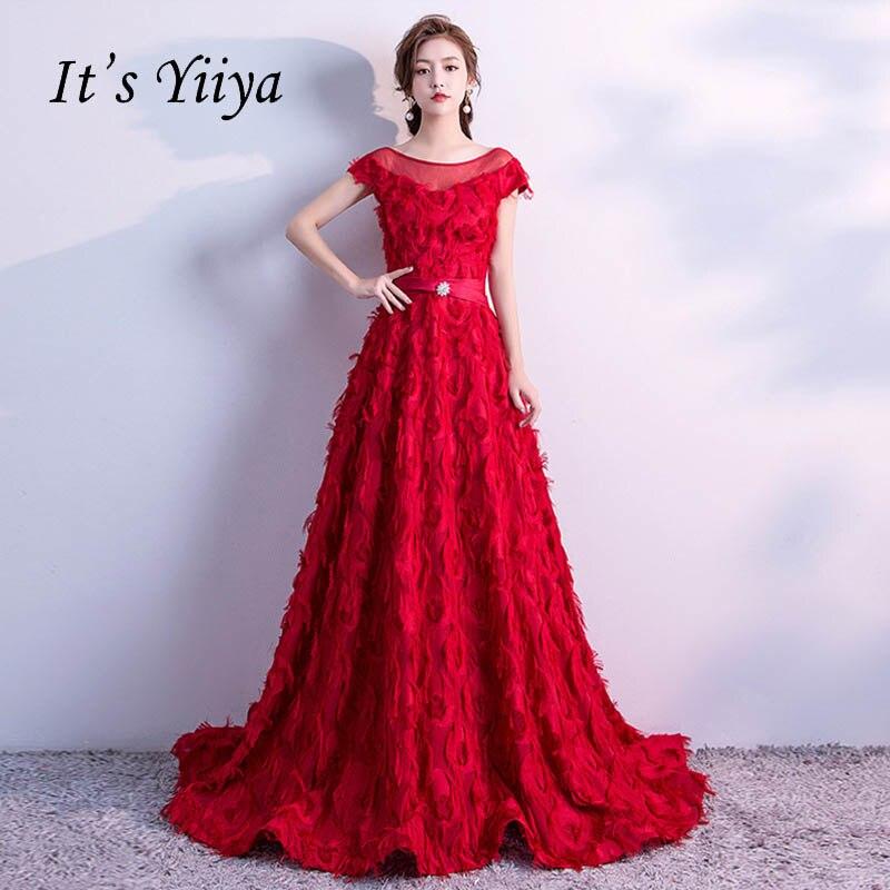 Es der YiiYa Elegante O-ansatz Ärmelloses Dinner-Party Formale ...