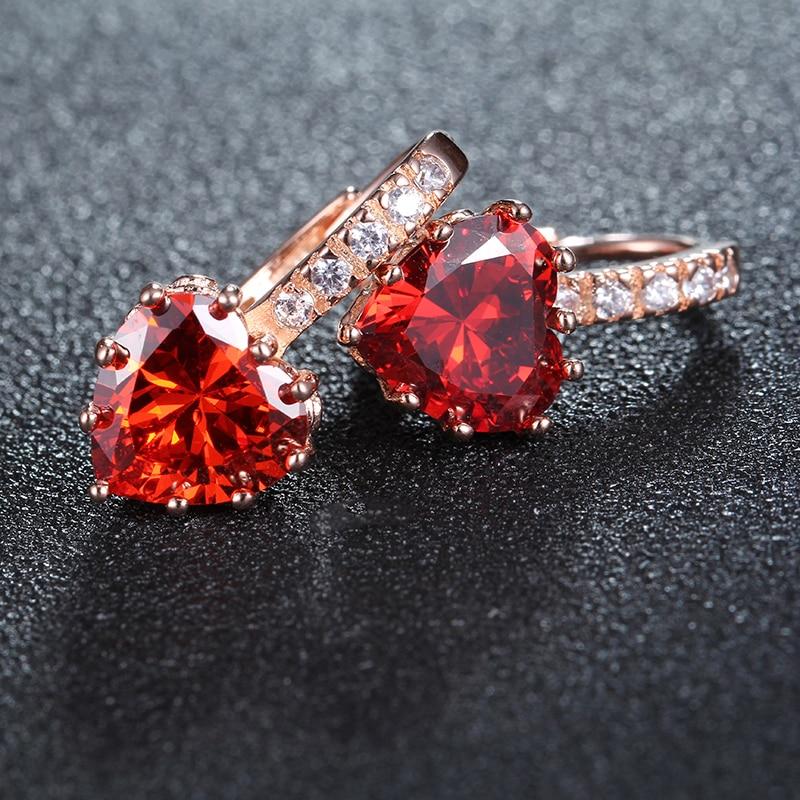 Γυναίκες σκουλαρίκια αγάπη - Κοσμήματα μόδας - Φωτογραφία 4