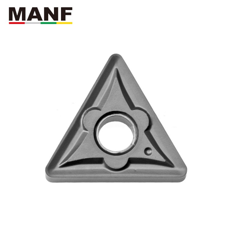 MANF <font><b>TNMG</b></font> <font><b>160404</b></font> TNMG160408 Knife Lathe Cutter Turning Insert Carbide Tool CNC Blade For Steel CNC Turning Tool Set For MTJNR20 image