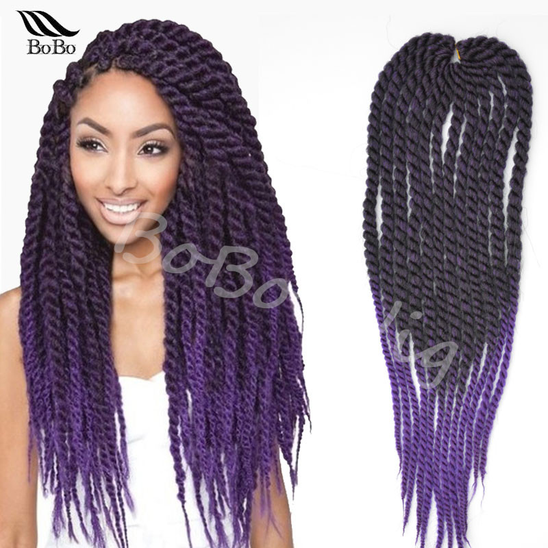 Hot 22 Expression Synthetic Crochet Braid Hair Havana Mambo Senegalese Twist Ombre Jumbo Braiding On Aliexpress Alibaba