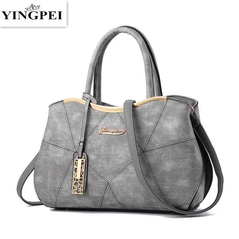 YINGPEI Women bag lady s handbags big bag ladies made of PU leather women messenger