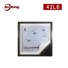42L6 ammeter 30A 50/5a 100/5a 200/5a ac pointer 42L20 through meter 120X120 installed voltmeter power