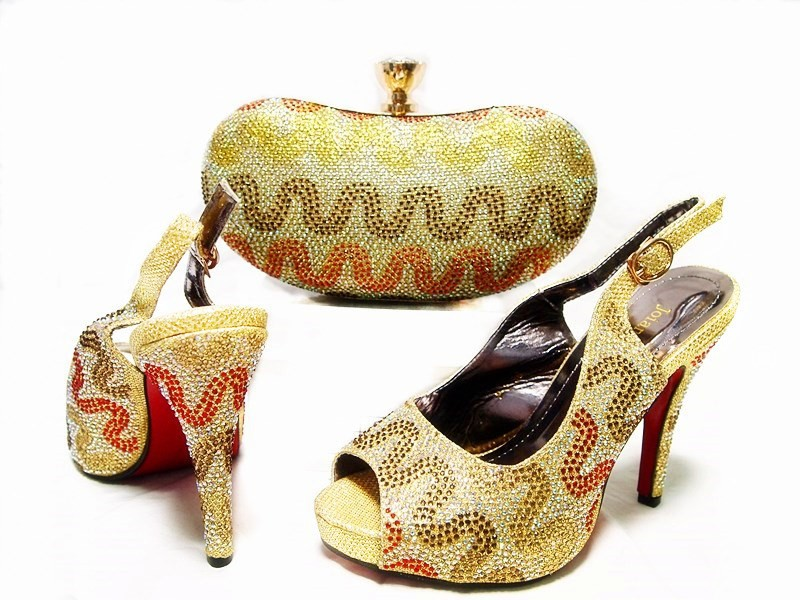 ФОТО Fashion Italian Matching Shoes And Bag Set High Quality African Shoes And Bag To Match For Wedding High Heel Party Pumps JA10-3