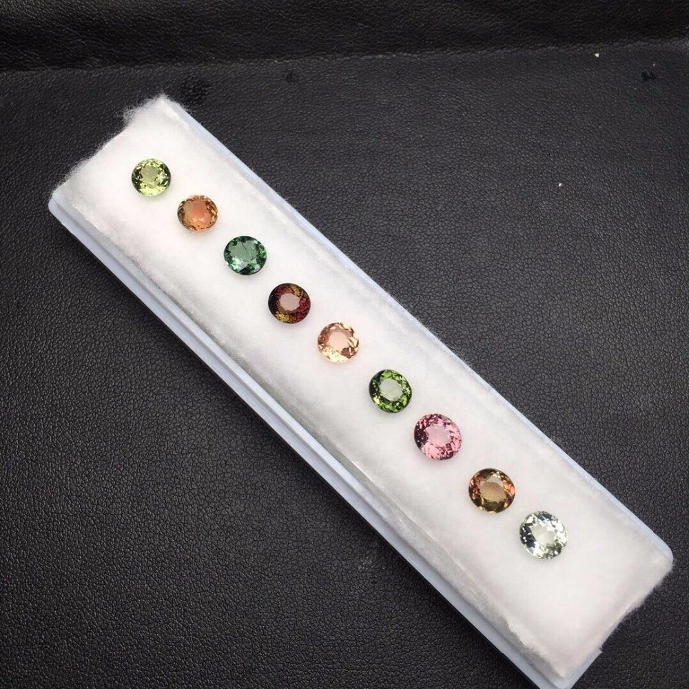 Pierres précieuses en Tourmaline naturelle de 8,27ct pierres précieuses en vrac