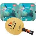 Original Pro Tischtennis PingPong Combo Schläger: galaxy Yinhe T4s mit 2x DHS NEO Hurricane 3 Gummis Shakehand Lange Griff FL-in Tischtennisschläger aus Sport und Unterhaltung bei