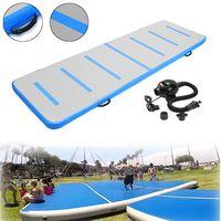 300x90x10cm Inflatable Air Track Tumbling Floor Gymnastics Training Pad GYM Mat Taekwondo Air Cushion with pump