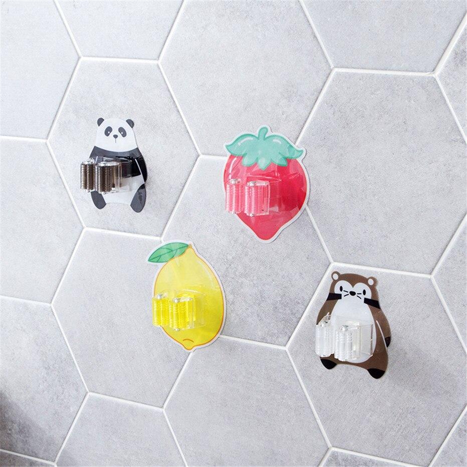 Mop Broom Holder Bathroom Tools Storage Rack Kitchen Organizer Wall Mounted Sticker Hook Umbrella Shelf Hanger4