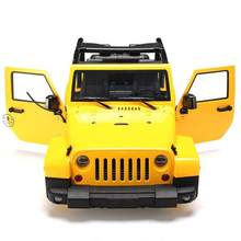 LeadingStar 1/10 RC Truck Hard Body Shell Luifel Rubicon Topless voor SCX10/D90(China)